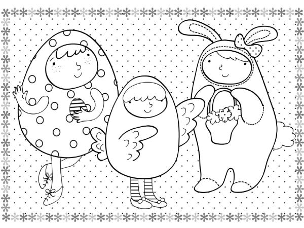 Lavoretti di Pasqua disegni