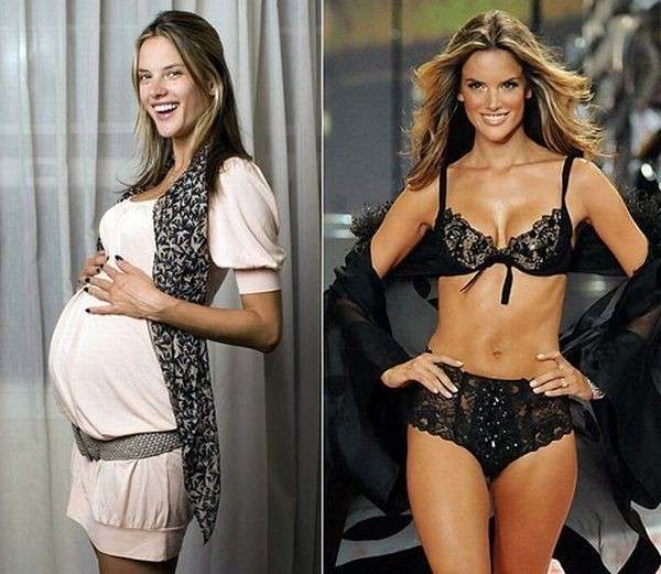 Tornare in forma dopo il parto: i trucchi delle vip [FOTO]