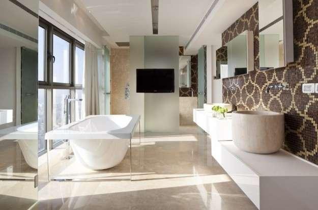 Arredo Bagno Mosaico Verde Acqua : Bagni a mosaico tante idee per decorare la casa foto pourfemme