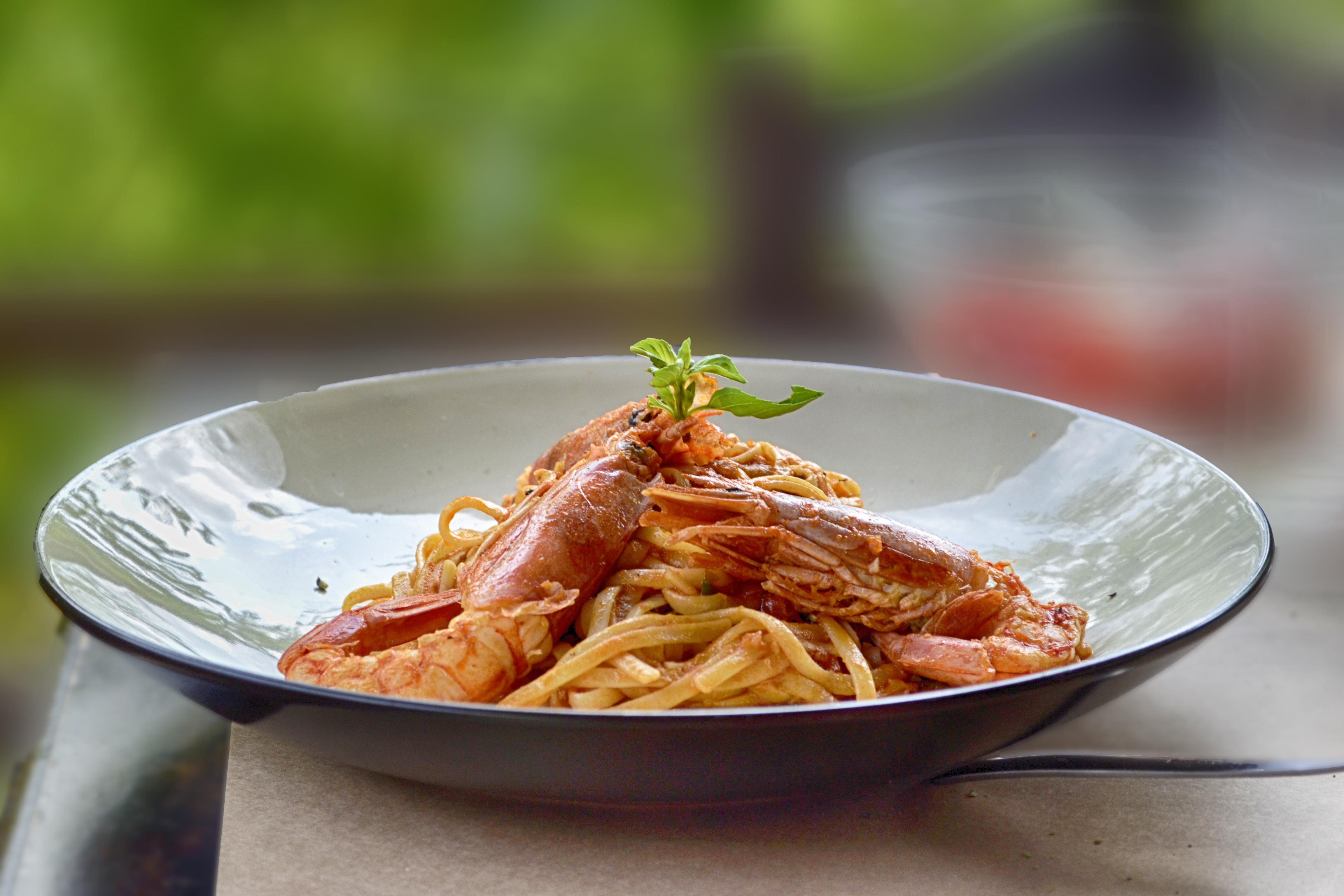 spaghetti con gli scampi fase attacco Dukan
