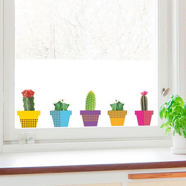 Vetrofanie e decorazioni su vetro fai da te istruzioni per realizzarle foto pourfemme - Adesivi natalizi per finestre ...