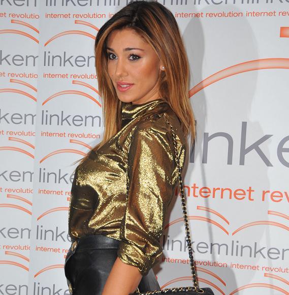 Belen Rodriguez incinta pancino