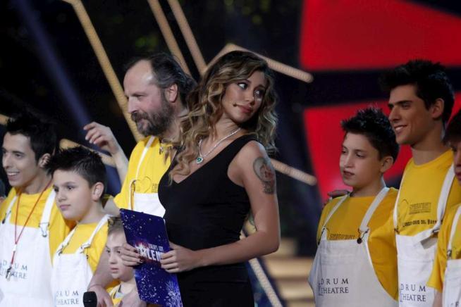 Lo sguardo della star tv argentina