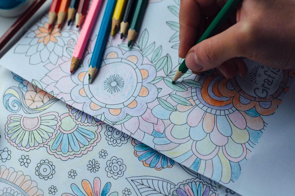 Disegni per la primavera da colorare