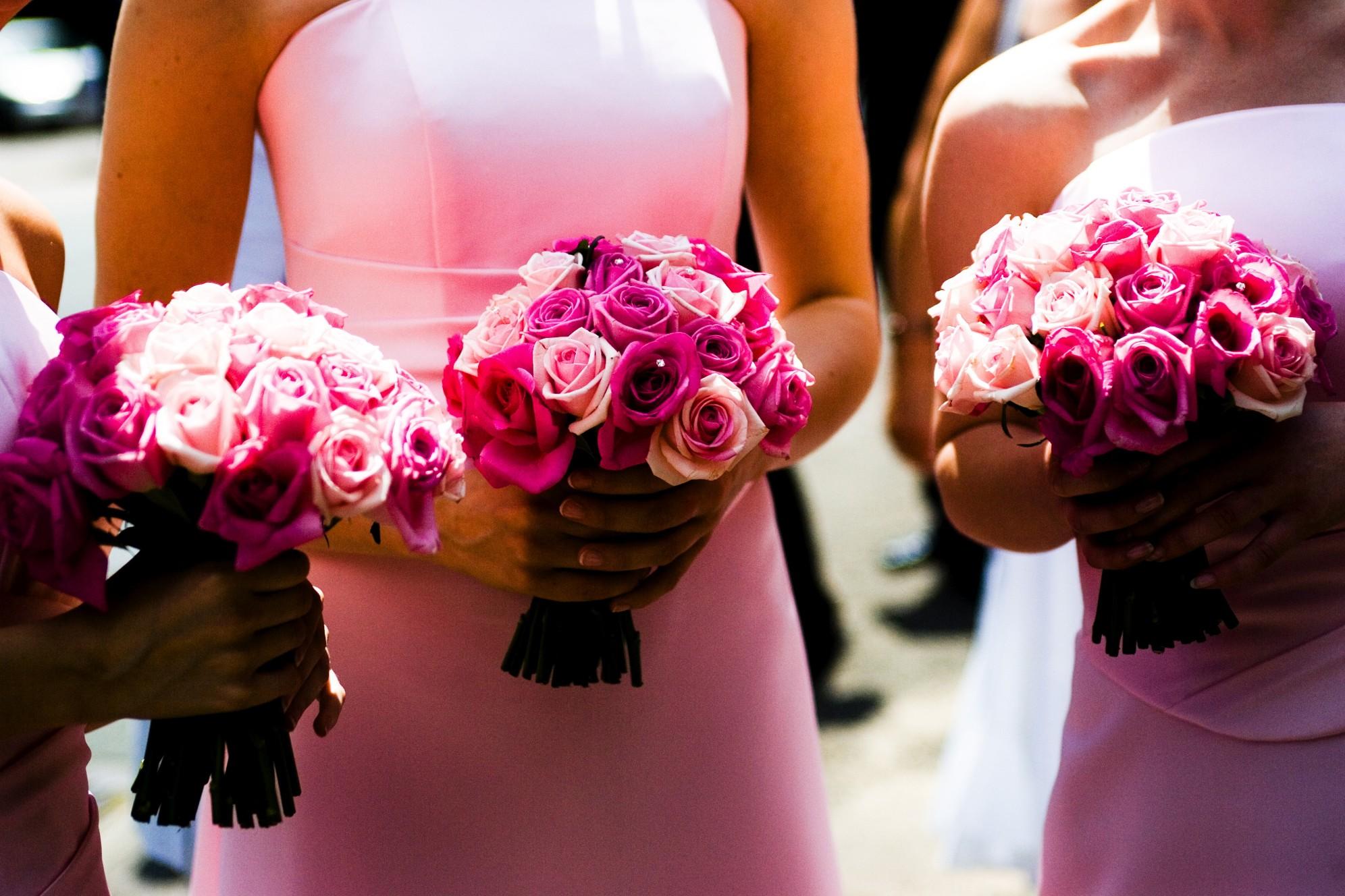 fiori matrimonio rosa