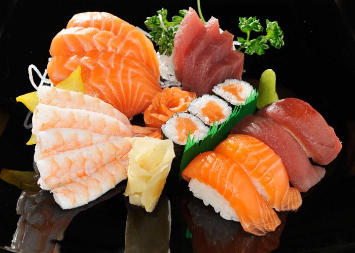 sushi sashimi light