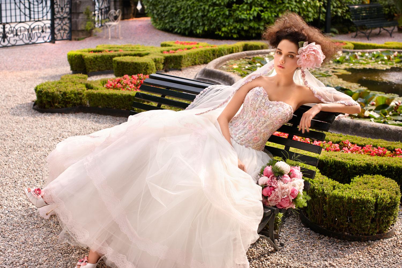 abito da sposa stile 800 barocco