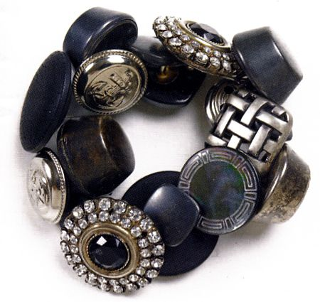 bracciale bottoni