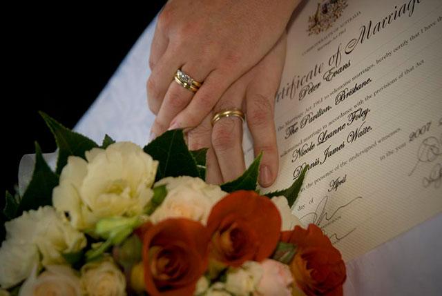 consenso per il matrimonio