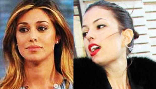 sara tommasi contro belen Rodriguez