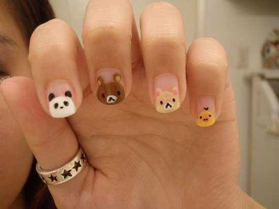 Foto di unghie decorate con animali: le più divertenti