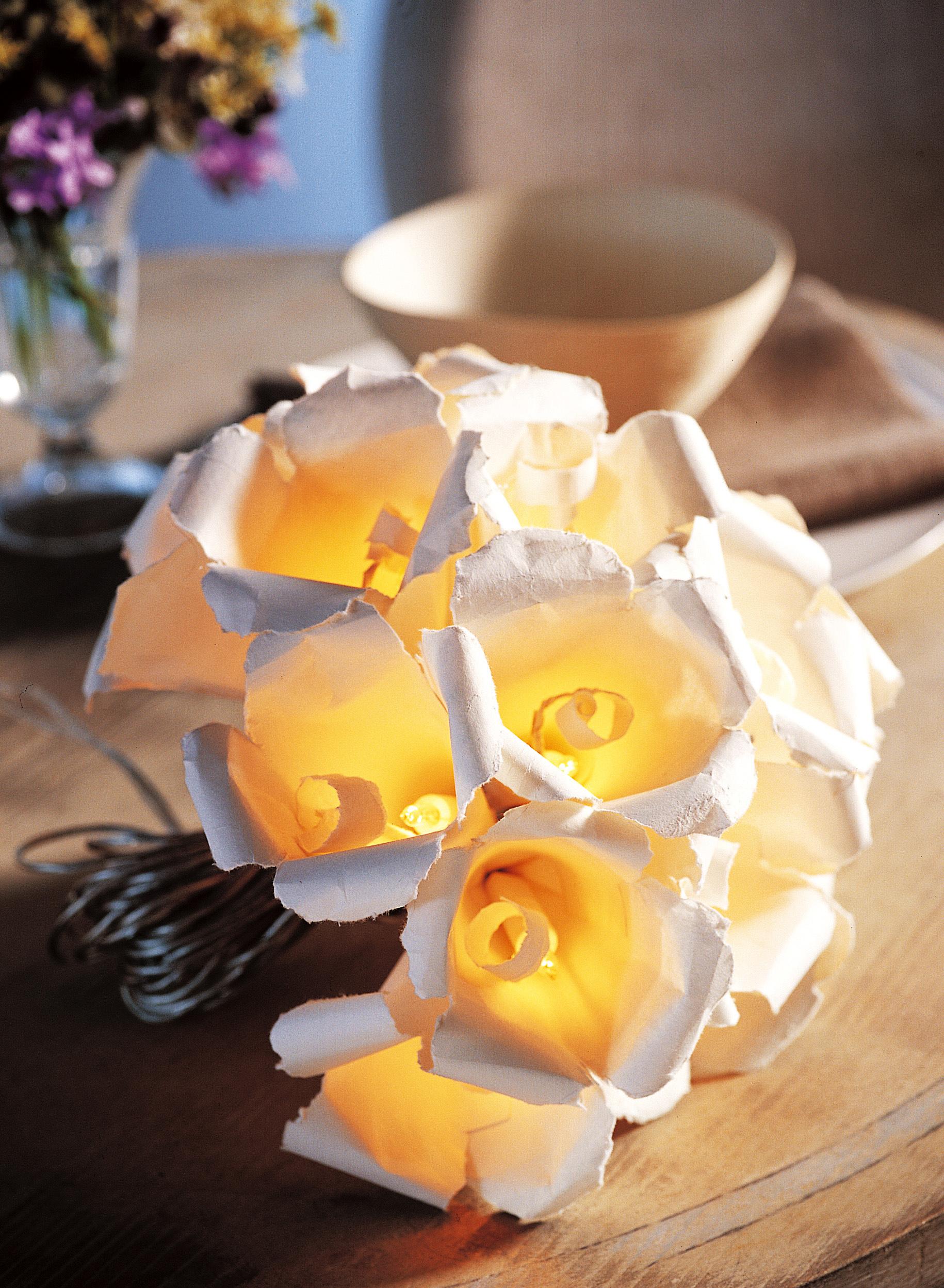 Bouquet come lampada