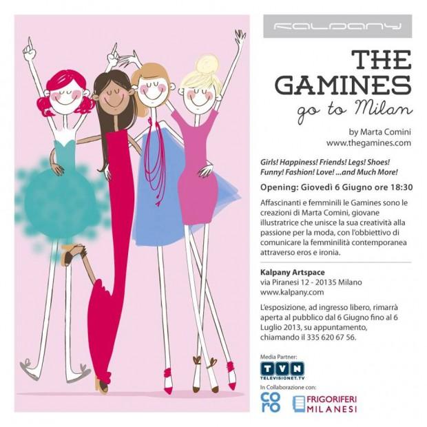 """La mostra da vedere: """"The Gamines go to Milan"""""""