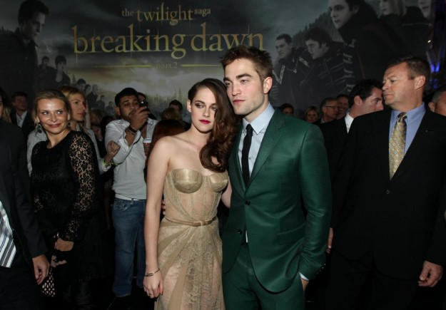 Kristen Stewart e Robert Pattinson red carpet a Los Angeles