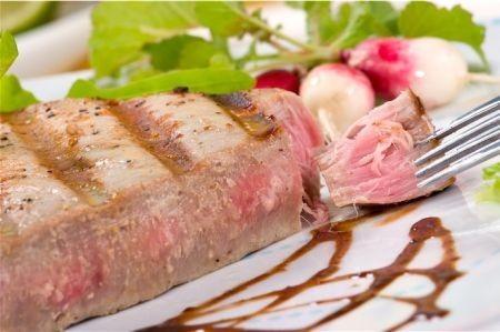 bistecca di tonno agrumi