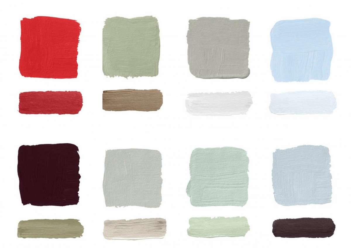 Abbinamenti Colori Pittura Interni.I Migliori Abbinamenti Di Colori Per Le Pareti Foto