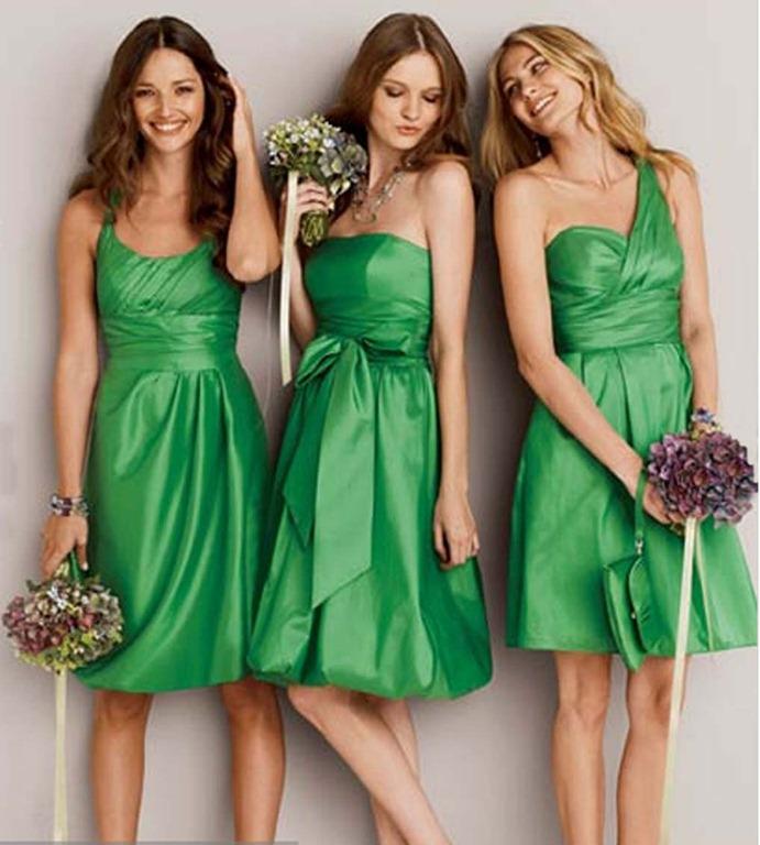 matrimonio al mare abiti verdi