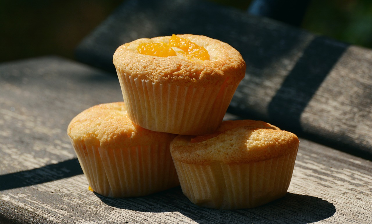 muffin con rabarbaro dieta dukan fase crociera
