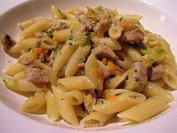 pasta tonno zenzero ricetta