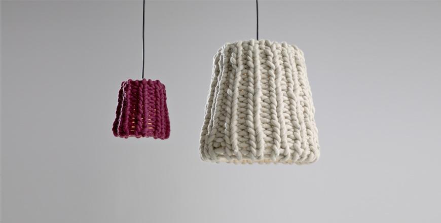 Lampada tricot