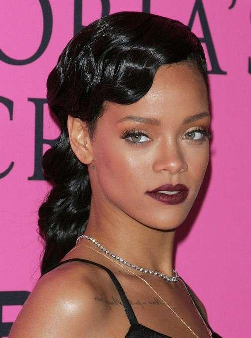 Trucco Rihanna sofisticato