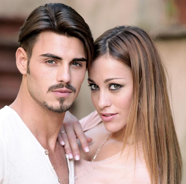 Teresanna e Francesco innamorati