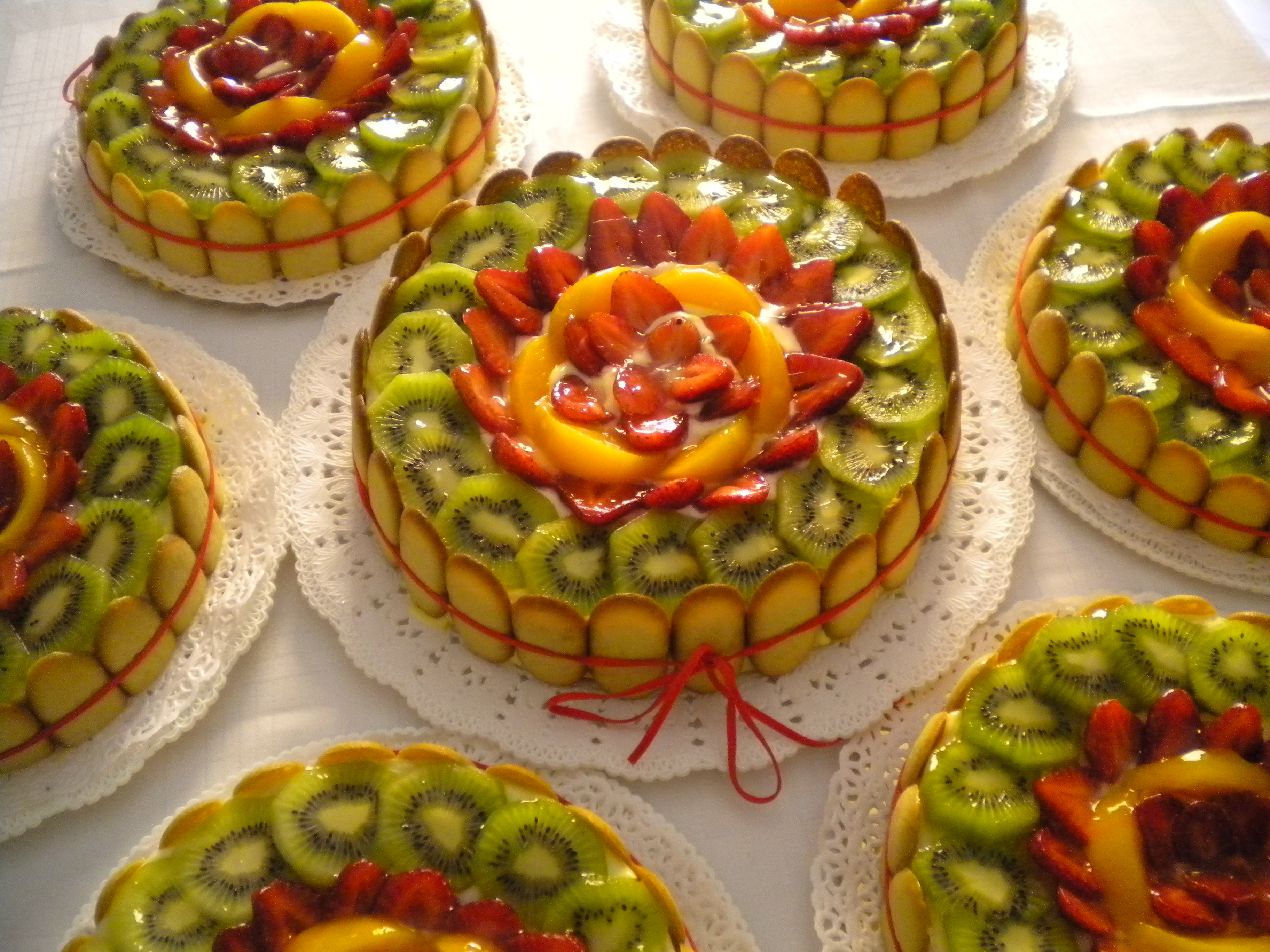 crostata frutta light