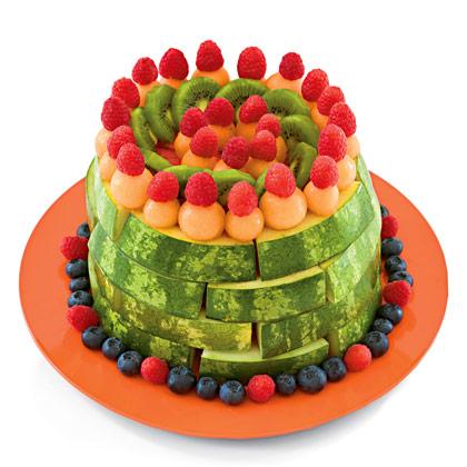 Dolci light a base di frutta per l'estate