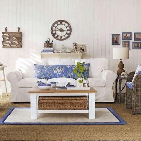 L 39 arredamento ideale per la casa al mare pourfemme for Arredamento marino per casa