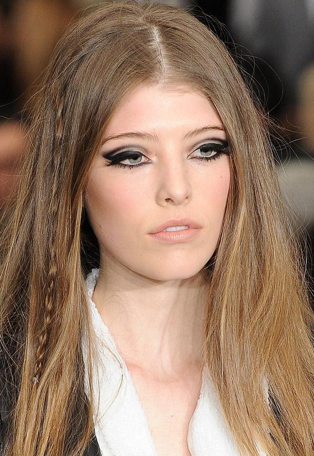 trucco invitata matrimonio occhi con eyeliner
