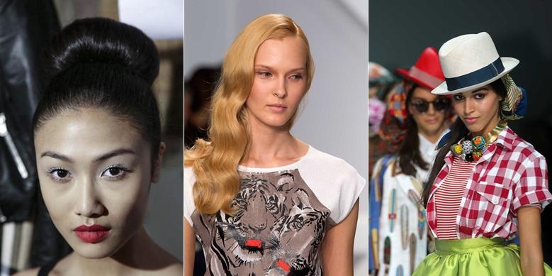 Hairstyle L'Oreal sfilate primavera estate 2014