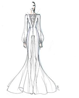 abito sposa belen
