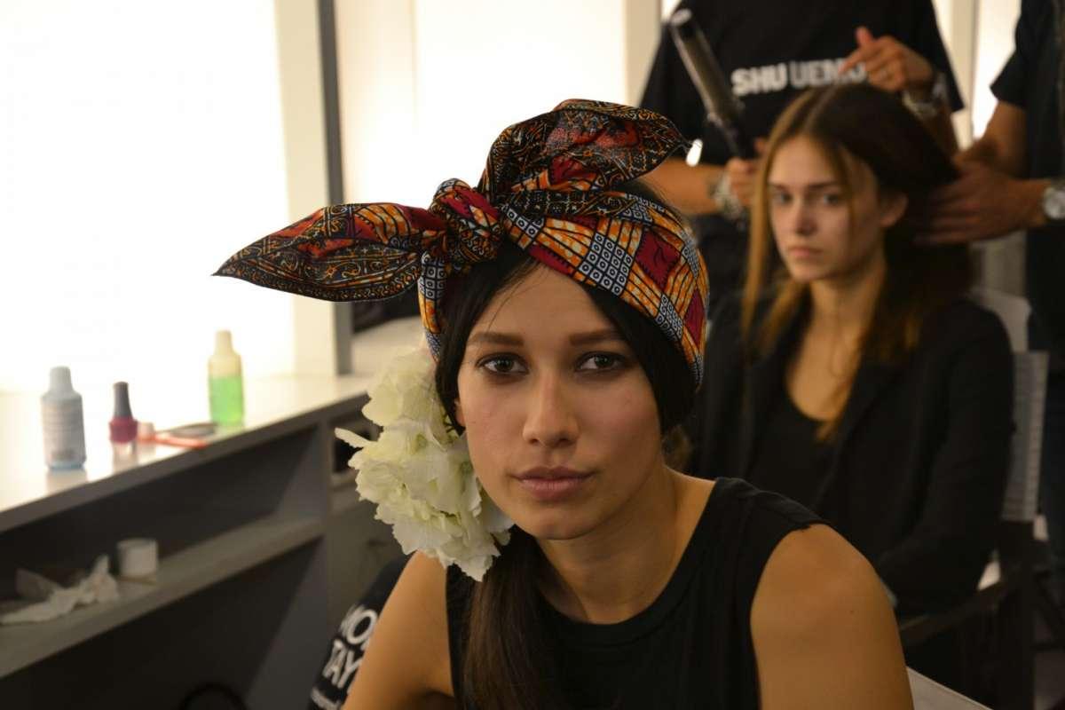 Backstage capelli Milano Moda Donna con l'Oreal [FOTO]