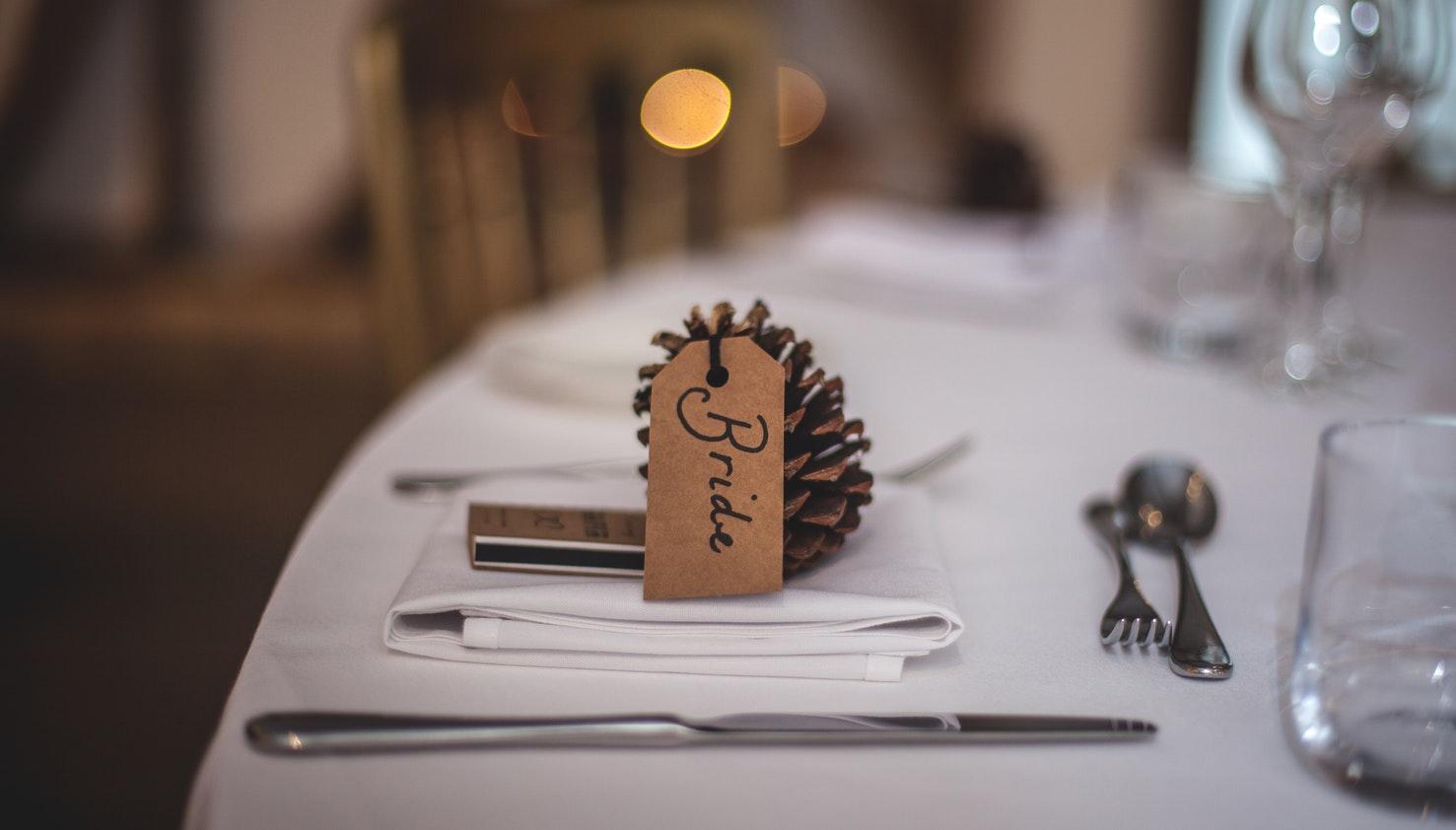 Decorazioni tavolo matrimonio autunno