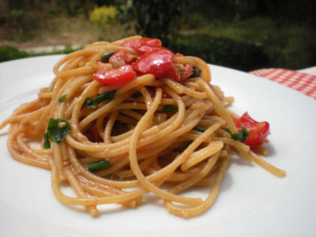 spaghetti integrali bimby