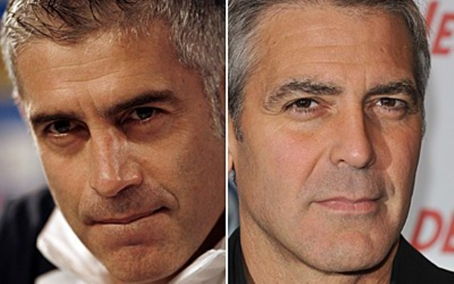 Antonis Nikopolidis e George Clooney
