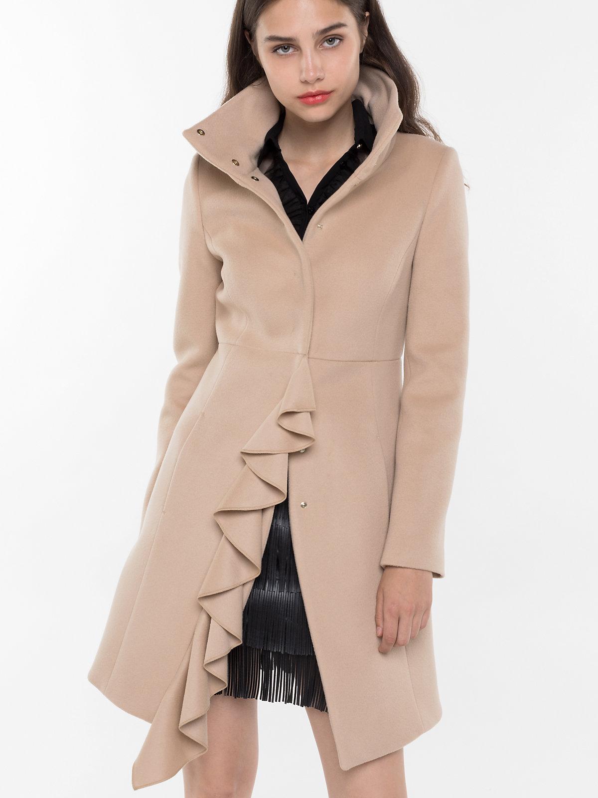 Cappotto cammello elegante Patrizia Pepe