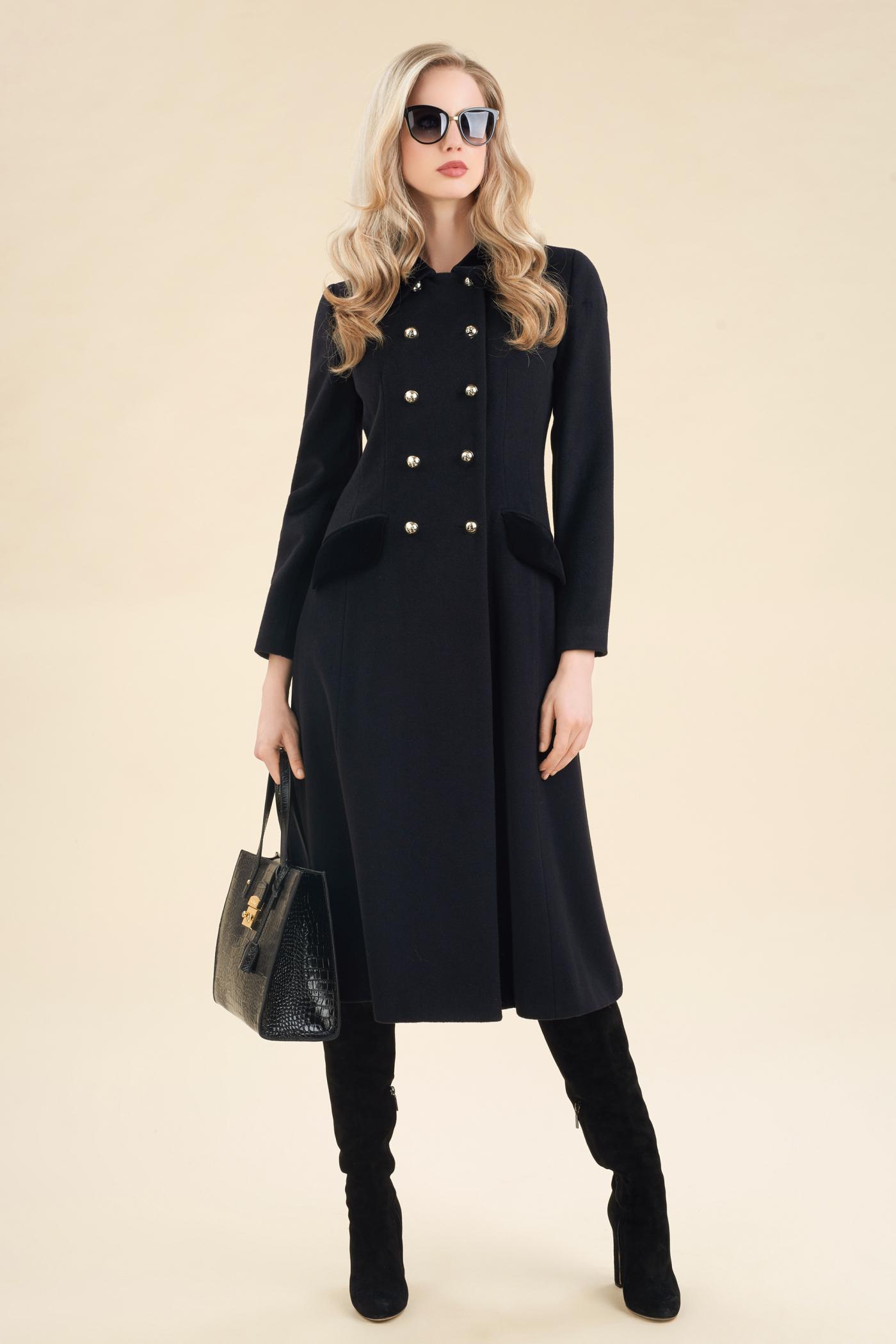 Cappotto elegante lungo Luisa Spagnoli