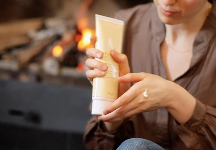 Crema per mani idratate