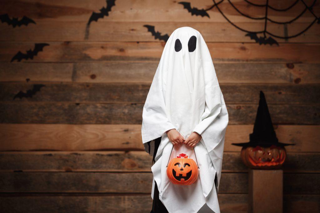 Costume Halloween per bambini fantasma