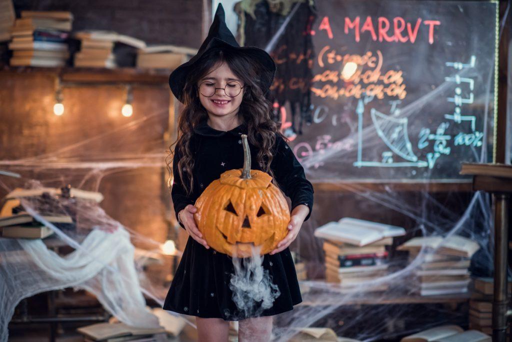 Costume Halloween bambini strega