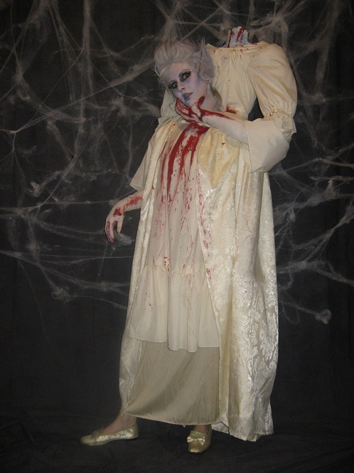 costume halloween donna senza testa