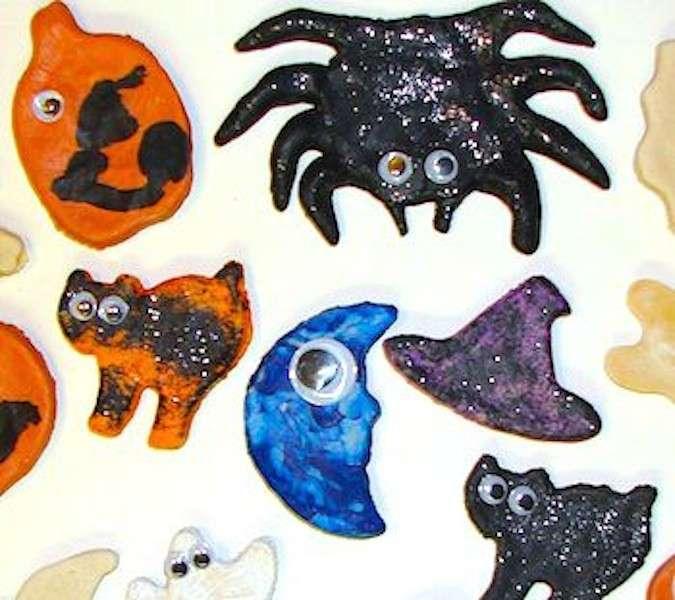 Halloween: crea con la pasta di sale dei personaggi spaventosi [FOTO]