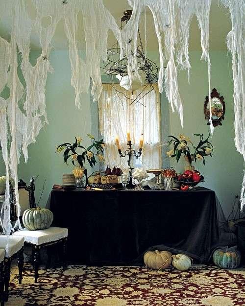Decorazioni per la tavola di Halloween