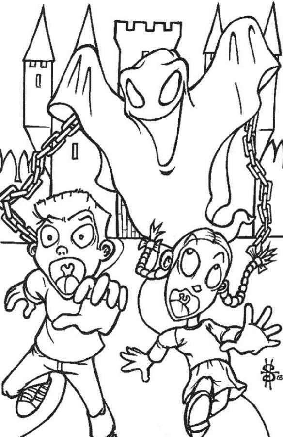Disegni Di Halloween Facili.Disegni Di Halloween Per Bambini Da Stampare E Colorare Pourfemme