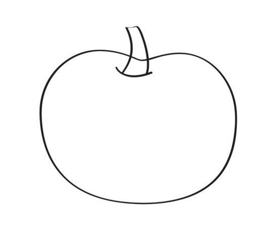 disegno picciolo zucca halloween
