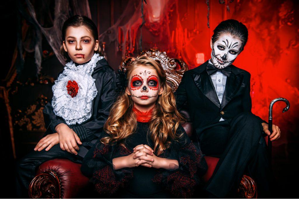 Festa di Halloween tema vampiri