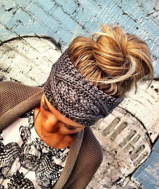 Come realizzare una fascia per capelli all'uncinetto [FOTO]