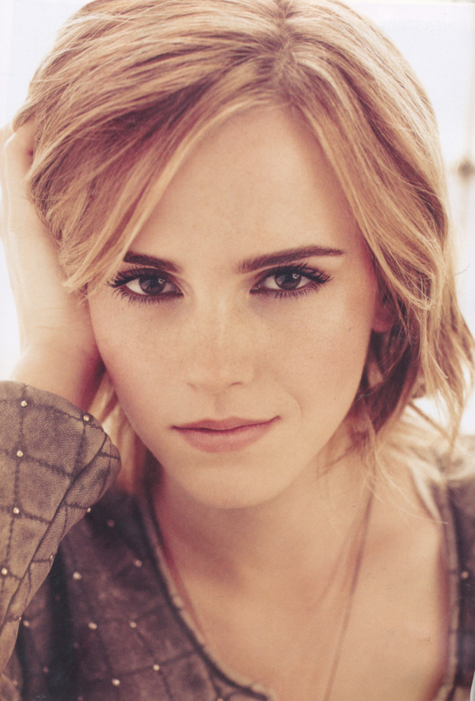make up e hairstyle di Emma Watson Marie Claire UK February 2013 003