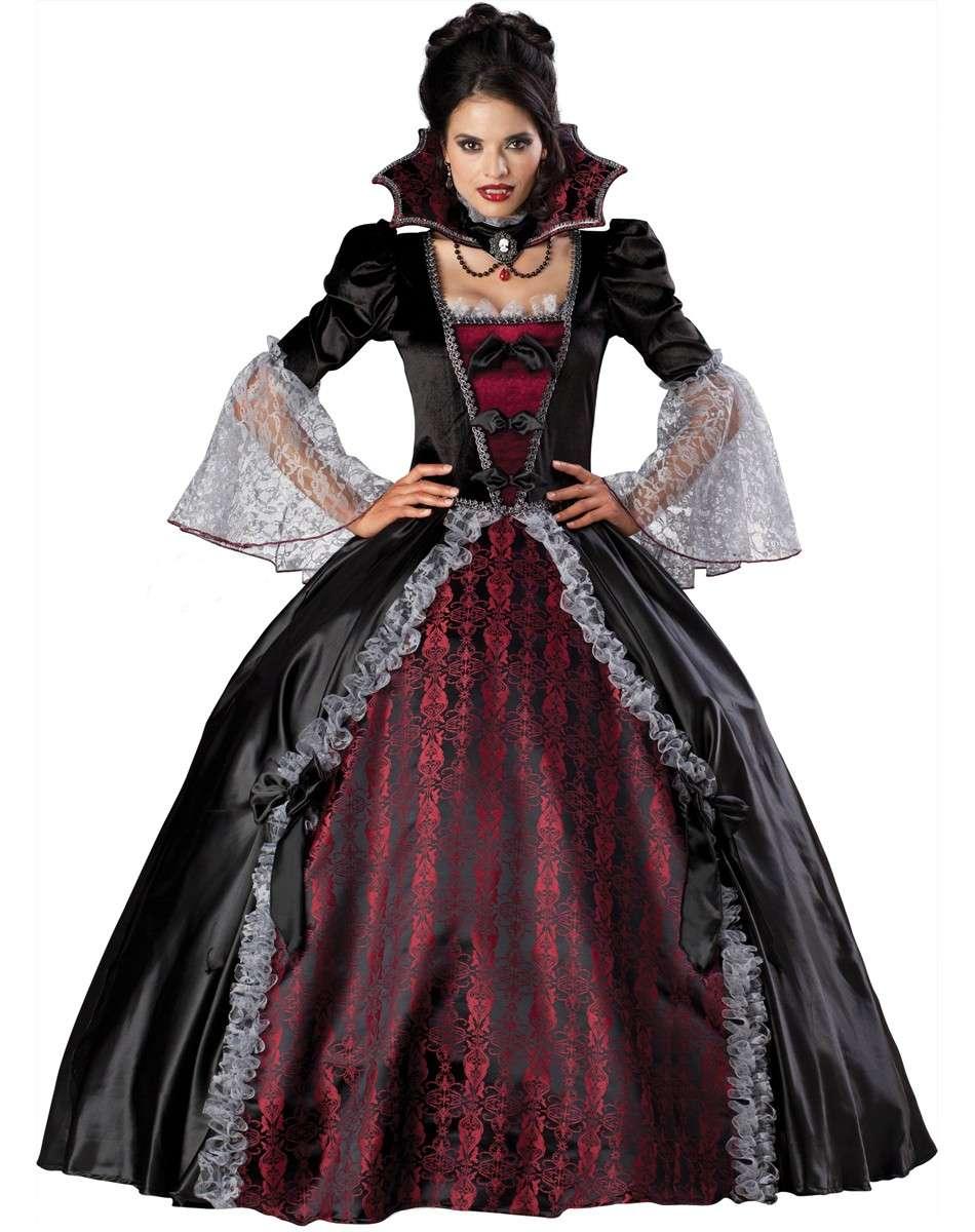 Costumi di Halloween fai da te da vampira  FOTO   4bc6c2856ec2
